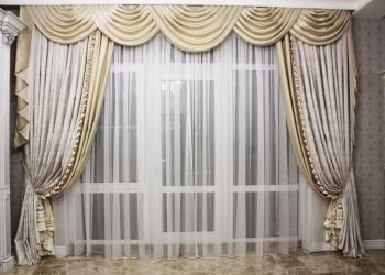 Купить ткани и заказать пошив штор в Краснодаре