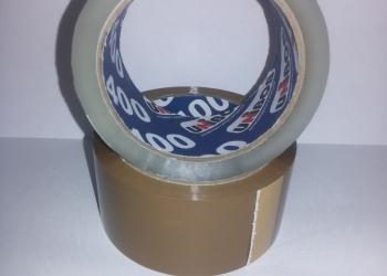 Липкая лента (скотч) 40 мкм, оптом, дёшево