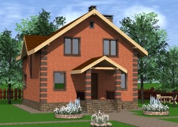 Готовый проект частного дома 150 м.кв. От автора!