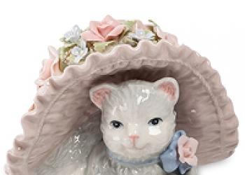 Кошки всюду статуэтки коллекционные