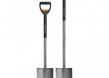 Телескопическая садовая лопата штыковая