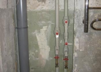 Замена стояков. Отопление без радиаторов. Проекты