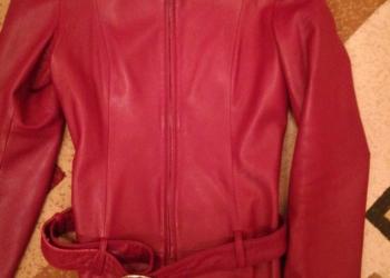 Куртка натуральная кожа (осень)
