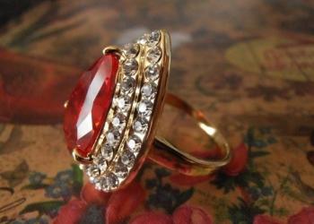 Шикарное новое кольцо