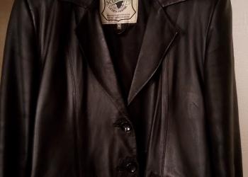 пиджак кожа натуральная