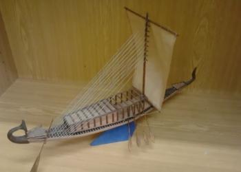 Лодка фараона.