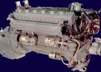 Двигатель дизельный судовой 3Д12, 3Д12А, 3Д12АЛ