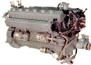 7Д12А Судовой двигатель привода генераторов 200 кВт