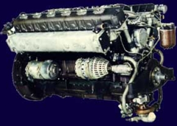 Двигатель на маневровый тепловоз ТГМ23Б, ТГМ-23В, ТГМ-23Д 1Д12-400БС2