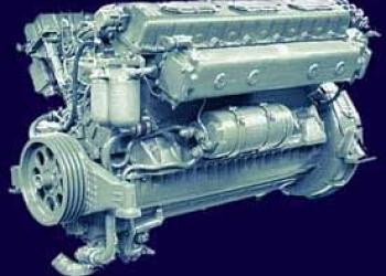 Двигатель дизельный маневровых тепловозов ТГМ-40 1Д12-400КС, 1Д12-400КС2
