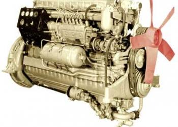 Двигатель для привода генератора 100 кВт 1Д6-150С2