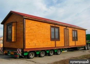 Бани модульного типа, Передвижные вагон-дома