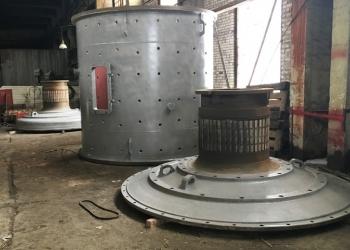 Крышка загрузочная для мельницы МШР
