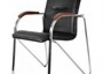 Продается стул  черный экокожа