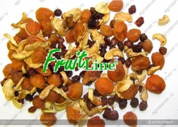 Смесь сушеных фруктов (компотная смесь )- оптом от производителя .