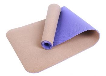 Новые пробковые и дизайнерские коврики для йоги