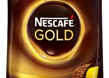 Кофе натуральный сублимированный Nescafe Gold 150 гр. мягкая упаковка
