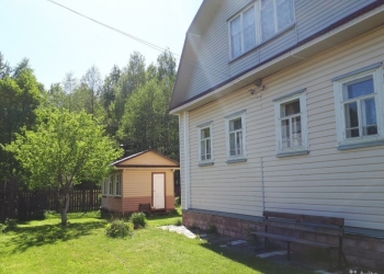 Дачный участок с домом и баней