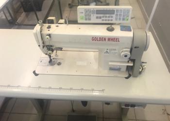Универсальные прямострочные швейные машины Golden Wheel с автоматикой