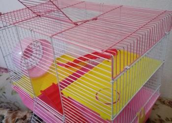 Большая трёхэтажная клетка + лабиринты в подарок