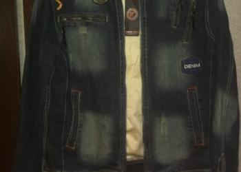 Джинсовая куртка(новая)