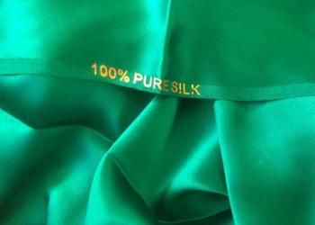 Отрез ткани шёлк 100% Италия, Китай, Франция Ликвидация склада -40%-50%