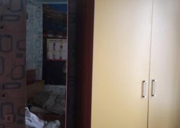 Детская подросковая комната (шкафы, кравать, стол)