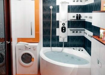 Сантехника плюс отделочные работы в ванной, туалете
