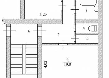 Продается 2-х комнатная квартира в городе Россошь