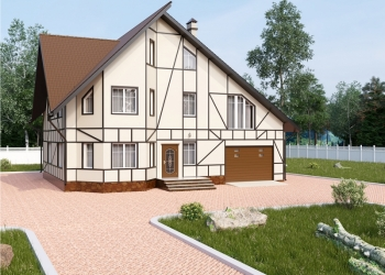 Проект коттеджа 322 кв.м / Артикул док-132