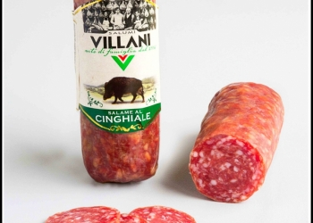 Салями cinghiale с мясом дикого кабана