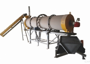 Производим  сушилки для песка барабанные