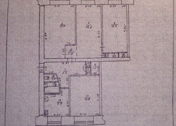 4-к квартира, 75 м2, 1/5 эт.