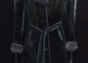 Шуба женская из мутона