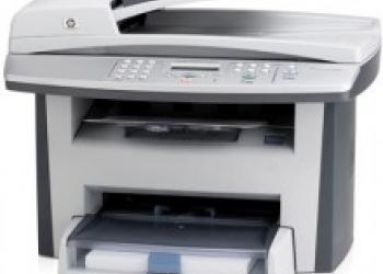 прошивка принтеров, МФУ