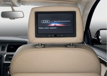 Ремонт дисплея (монитора) подголовника Ауди (Audi) Q7, A8