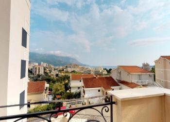Продается квартира без мебели в Бечичи+вид на море, Черногория 51m2.102 000 €