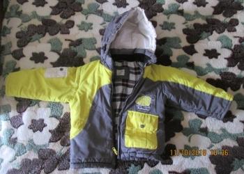 Куртка с капюшоном еврозима для мальчика, б/у