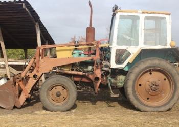 Трактор ЮМЗ с куном
