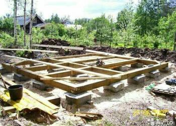 Блоки бетонные фундаментные 30х30х30