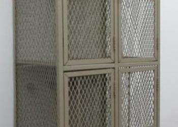 Мебель металлическая в стиле ЛОФТ, перегородки офисные металлические