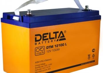 Аккумуляторная батарея Delta 12В 65 А/ч