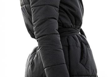 Теплое женское пальто для зимнего периода