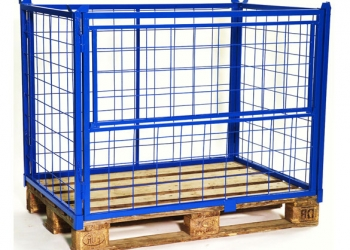 Ограждения палетные металлические сборные типа ОПС под палеты FIN и EVRO