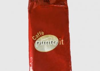 Зерновой кофе Punto It Red производство Италии для ресторанов ,кафе и кофейни