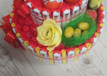 Торт из киндеров для сладкоежки
