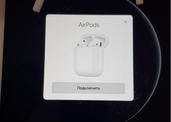 Беспроводные наушники Airpods сенсорные