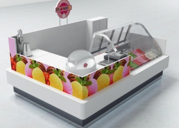Оборудование для продажи весового мороженого