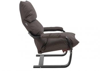 Кресло-трансформер Онега в экокоже, коричневое