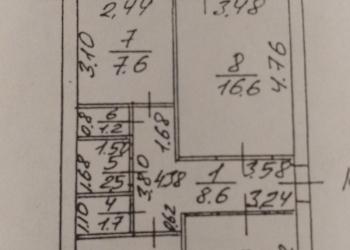 3-к квартира, 63 м2, 4/5 эт.